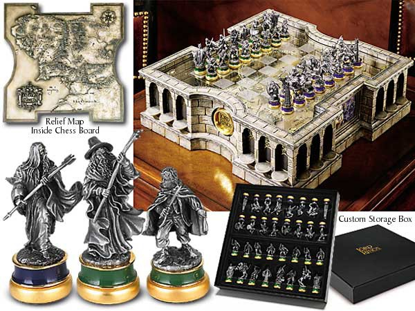 Herr der Ringe Schach Set