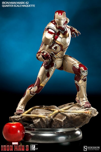 Iron Man 3 Maquette 1/4 Iron Man Mark 42 51 cm