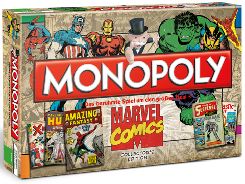 Marvel Comics Brettspiel Monopoly