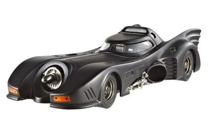 Batmans Rückkehr Diecast Modell 1/43 1989 Batmobile Hotwheels Elite Edition