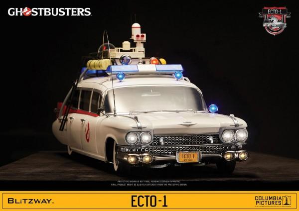 Ghostbusters Fahrzeug 1/6 ECTO-1 1959 Cadillac 116 cm