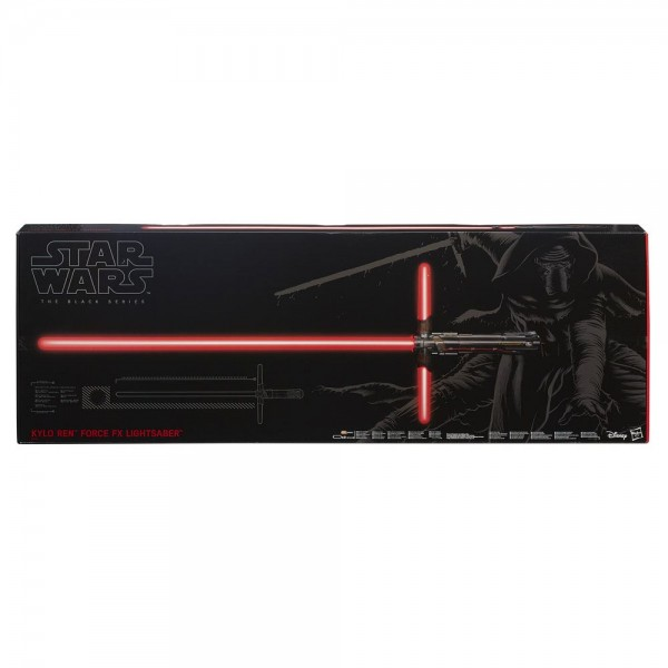Star Wars Episode VII Black Series Replik 1/1 Force FX Deluxe Lichtschwert 2015 Kylo Ren