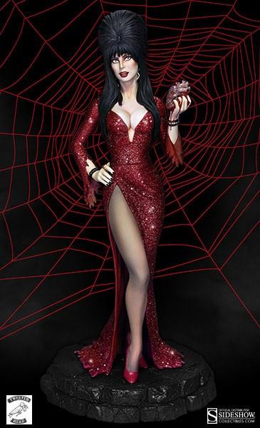Elvira Mistress of the Dark Maquette Your Heart Belongs to Me 37 cm