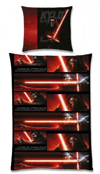 Star Wars Episode VII Bettwäsche Kylo Ren 135 x 200 cm / 80 x 80 cm