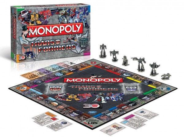Transformers Brettspiel Monopoly *Deutsche Version*