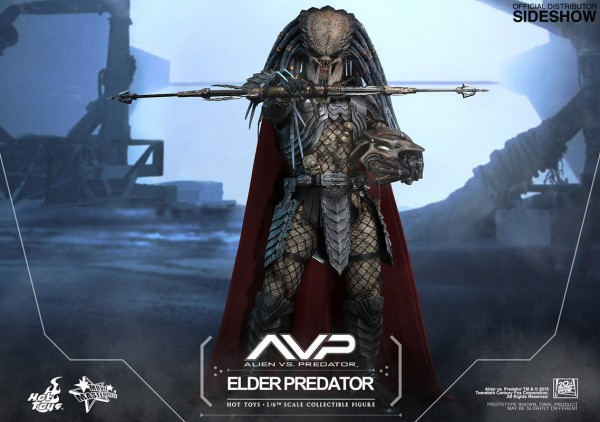 Alien vs. Predator Movie Masterpiece Actionfigur 1/6 Elder Predator 35 cm