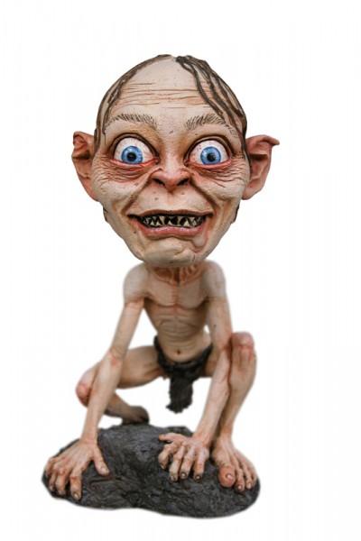 Herr der Ringe Head Knocker Wackelkopf-Figur Smeagol 15 cm