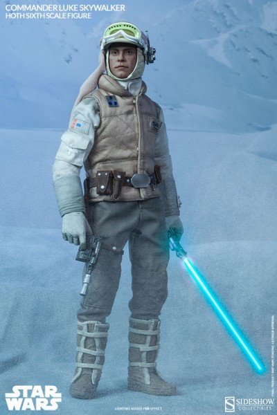 Star Wars Commander Luke Skywalker Hoth 1/6 Actionfigur 30 cm