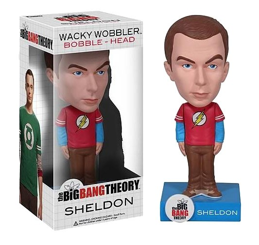 The Big Bang Theory Wacky Wobbler Wackelkopf-Figur Sheldon 15 cm