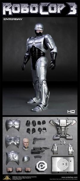 RoboCop 3 HD Masterpiece Actionfigur 1/4 RoboCop 45 cm