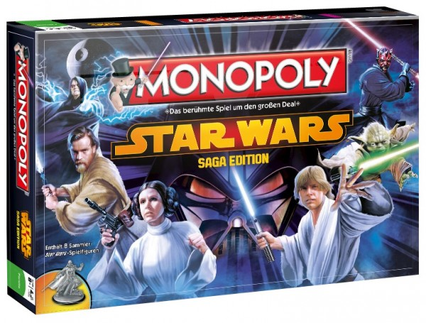 Star Wars Brettspiel Monopoly Saga Edition deutsch