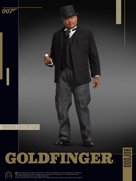 James Bond Goldfinger Collector Figure Series Actionfigur 1/6 Oddjob 30 cm
