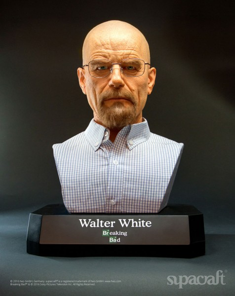 Breaking Bad Life-Size Büste Walter White 54 cm