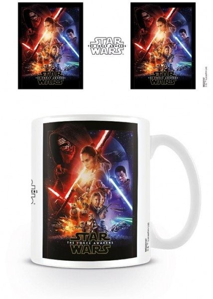 Star Wars Episode VII Tasse One-Sheet
