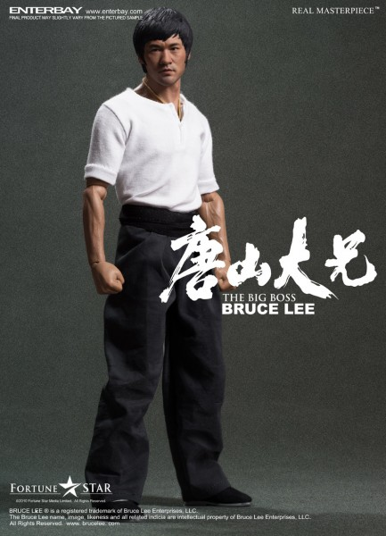 Bruce Lee Real Masterpiece Actionfigur 1/6 The Big Boss 30 cm