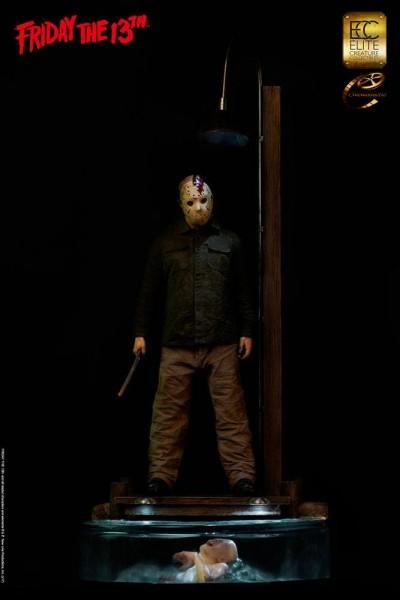 Freitag der 13. Maquette 1/3 Jason Voorhees Dark Reflection 115 cm