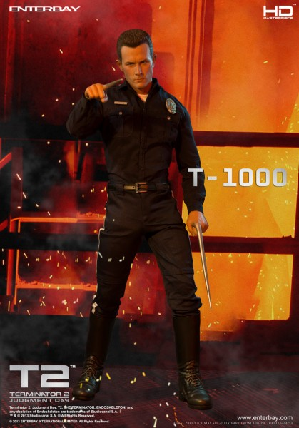 Terminator 2 HD Masterpiece Actionfigur 1/4 T-1000 45 cm