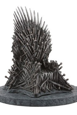 Game of Thrones Statue Eiserner Thron 18 cm