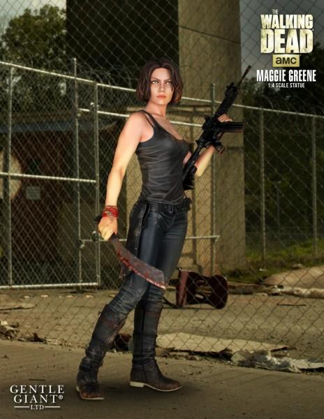 The Walking Dead Statue 1/4 Maggie Greene 46 cm