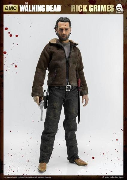 The Walking Dead Actionfigur 1/6 Rick Grimes 30 cm