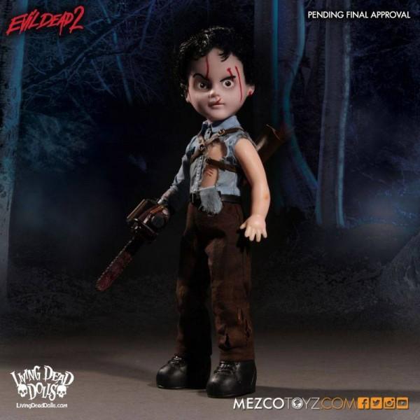 Tanz der Teufel II Living Dead Dolls Puppe Ash 25 cm