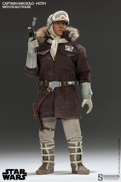 Star Wars Captain Han Solo Hoth Actionfigur 1/6 30 cm