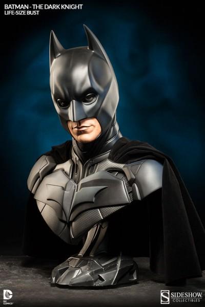The Dark Knight Trilogy Life-Size Büste Batman 74 cm