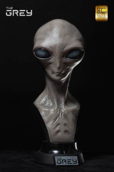 The Grey 1:1 Scale Bust