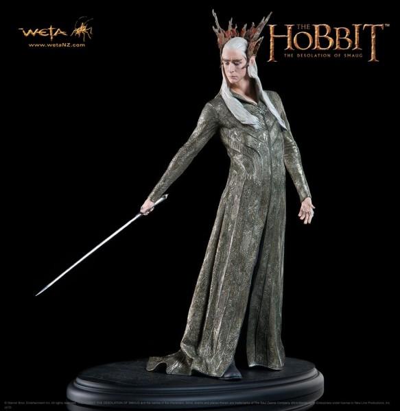 Der Hobbit Smaugs Einöde Statue 1/6 König Thranduil 34 cm