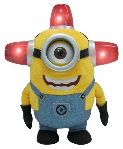 Ich - einfach unverbesserlich 2 Plüschfigur mit Sound Bee Doo Stuart 25 cm Minions