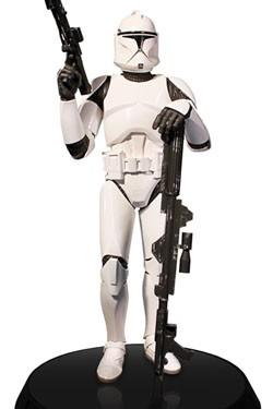 Star Wars Deluxe Statue 1/6 White Clone Trooper 32 cm