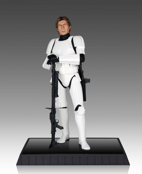 Star Wars Deluxe Han Solo Statue Stormtrooper 1/6 32 cm