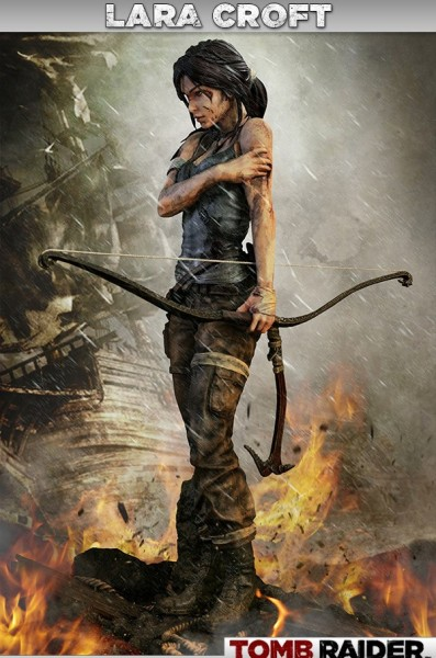 Tomb Raider Lara Croft Survivor 1/4 Statue 51 cm