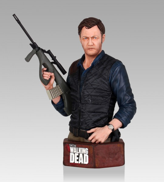 The Walking Dead Büste 1/6 The Governor 19 cm