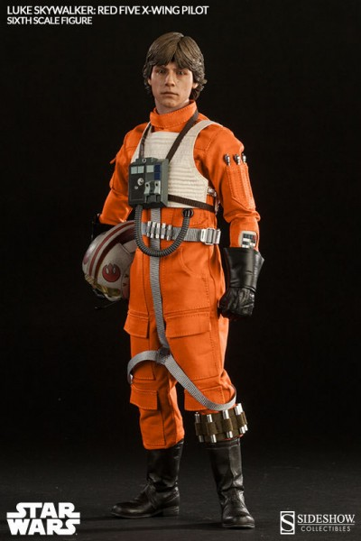 Star Wars Actionfigur 1/6 Luke Skywalker Red Five X-wing Pilot 30 cm