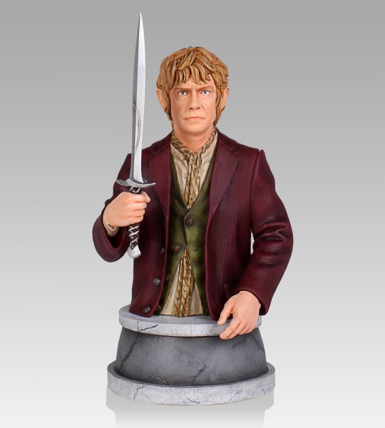 Der Hobbit Büste 1/6 Bilbo Beutlin 14 cm
