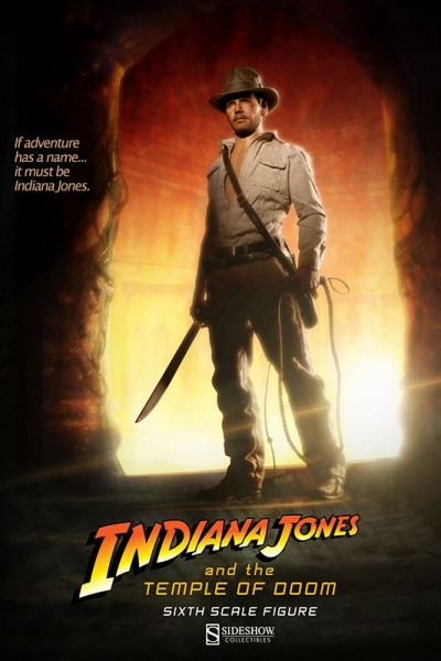 Indiana Jones und der Tempel des Todes Actionfigur 1/6 Indiana Jones 30 cm