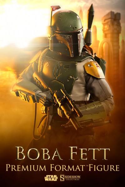 Star Wars Premium Format Figur 1/4 Boba Fett 65 cm