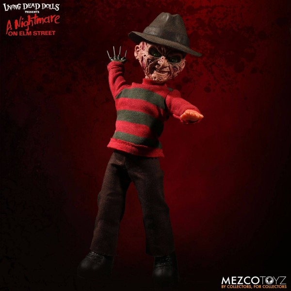 Nightmare on Elm Street Puppe mit Sound Freddy Krueger 25 cm