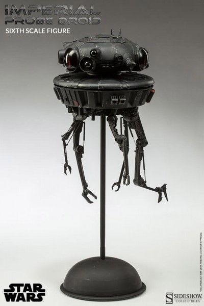 Star Wars Actionfigur 1/6 Imperial Probe Droid 44 cm