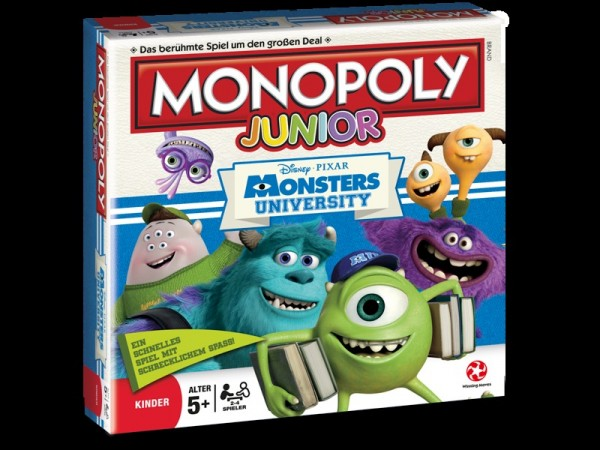 Die Monster Uni Brettspiel Monopoly Junior