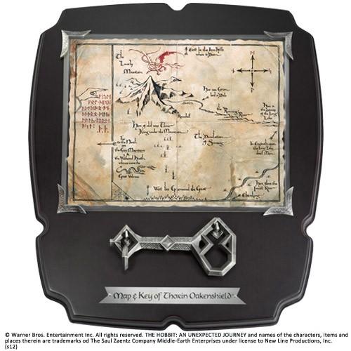 Der Hobbit Replik 1/1 Thorin´s Schlüssel und Karte zum Erebor Deluxe
