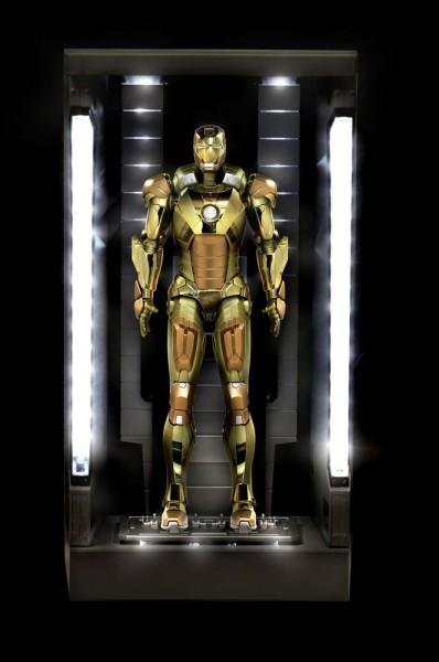 Iron Man 3 Action Hero Vignette 1/9 Mark XXI Hall of Armor 20 cm