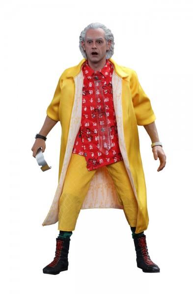 Zurück in die Zukunft II Movie Masterpiece Actionfigur 1/6 Dr Emmett Brown 30 cm