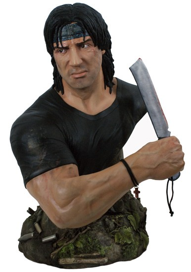 Rambo IV Büste 1/2 John J. Rambo 42 cm