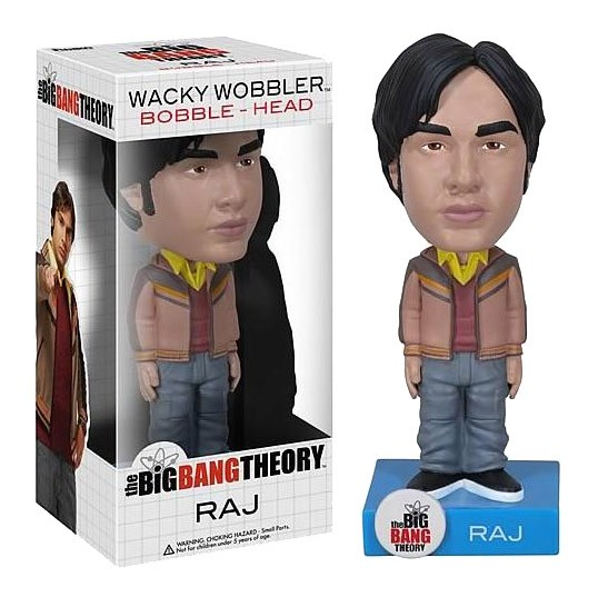 The Big Bang Theory Wacky Wobbler Wackelkopf-Figur Raj 15 cm