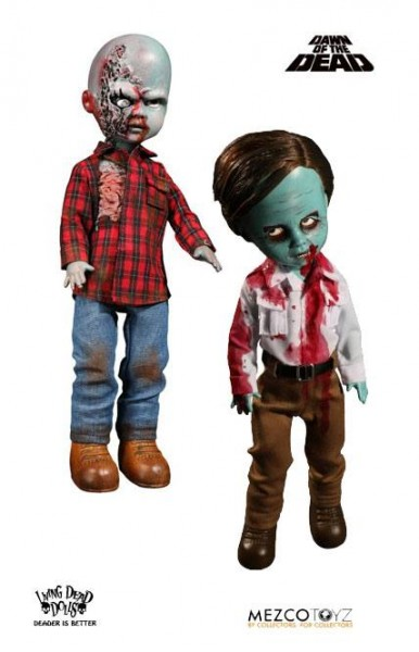 Dawn of the Dead Living Dead Dolls Puppen 25 cm Flyboy & Plaid