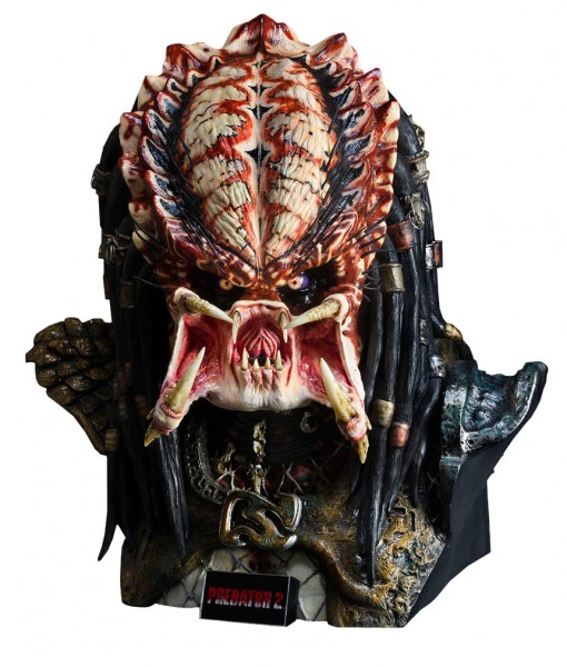 Predator 2 Büste 1/1 Predator 65 cm