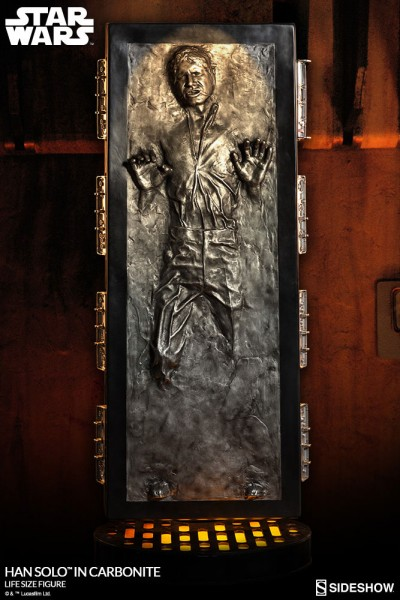 Star Wars Life-Size Statue Han Solo in Karbonit 231 cm