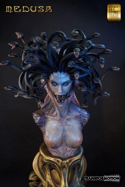 Medusa Life-Size Büste by Steve Wang 101 cm